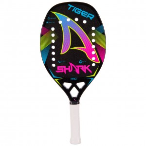 Raquete de Beach Tennis Shark Tiger